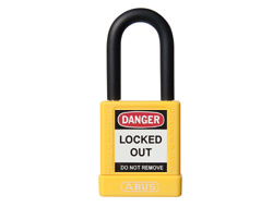 ABUS Lock Out Padlock Keyed Alike, Yellow