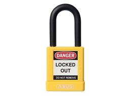 ABUS Lock Out Padlock (Keyed Alike, Yellow)
