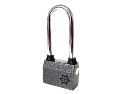 Long Shackle Alarm Padlock