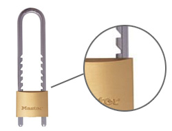 Keyed Alike Adjustable Shackle Padlock