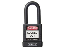 ABUS LockOut Padlock (Keyed Alike, Black, TT01609)