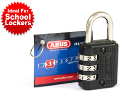Locker Combination Padlock (30mm)