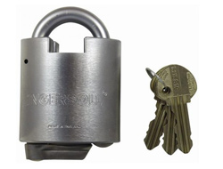 Closed Shackle Ingersol Impregnable Lever Padlock