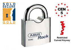 Restricted ABUS Rock Padlock