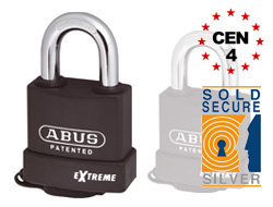 Keyed Alike Extreme Padlock (63mm)