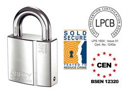 Abloy PL340 Keyed Alike High Security Padlock (CEN 4)