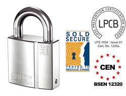Abloy PL350 Keyed Alike Security Padlock CEN 5