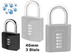 Large Combination Padlock 40mm