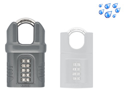 Large Closed Shackle Combination Padlock 65mm