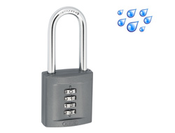Large Long Shackle Combination Padlock 50mm