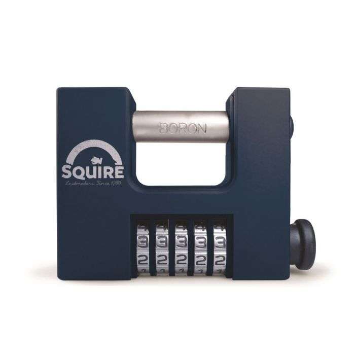 Straight Shackle Combination Padlock 85mm