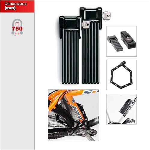 Abus 6000 75 Bordo Folding Bicycle Lock Buy Online Now