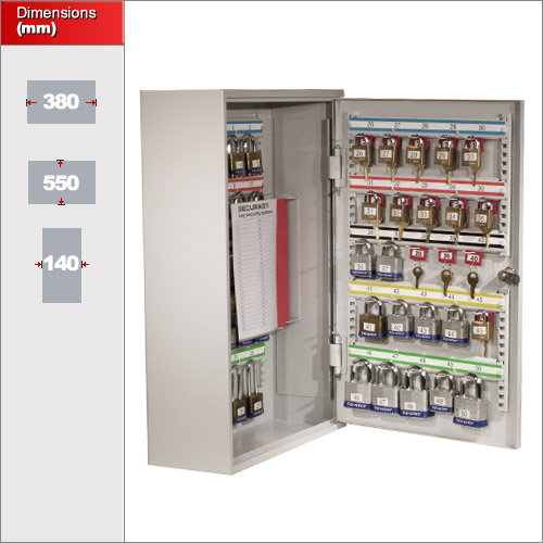 key cabinets securikey 50 pl padlock cabinet 50 buy now 18073